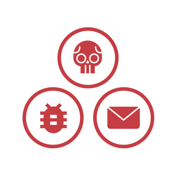 Some icons we designed for eSentire